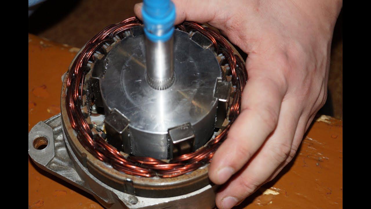 Генератор на неодимовых магнитах своими руками на 12 вольт