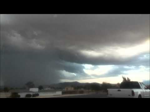 Strong Thundertorm (Apple Valley, CA) STORM #1