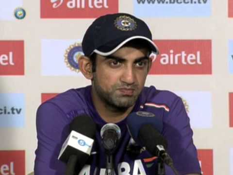 India vs England 2012, 2nd Test, Day Three: Gautam Gambhir press conference