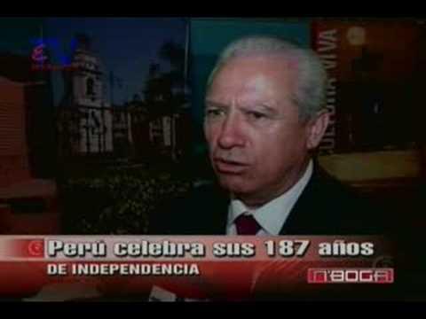 Perú celebra sus 187 años de Independencia