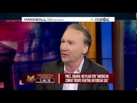 Kill 'em ALL  Bill Maher on Why Dick Cheney Wants More WAR!