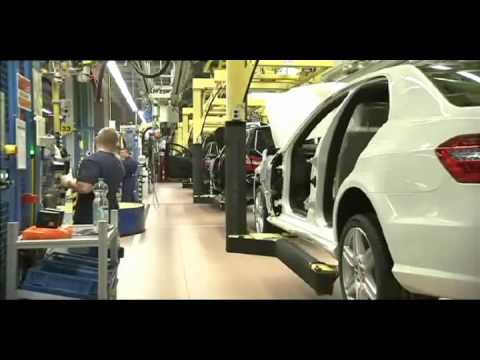 Mercedes-Benz E-Class Production - Sindelfingen Plant