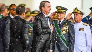 Bolsonaro comemora e faz impactante discurso aos brasileiros no dia do Exército