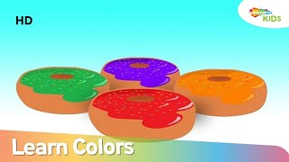 Learn Colors with Donuts | Educational Video for Kids | Shemaroo Kids