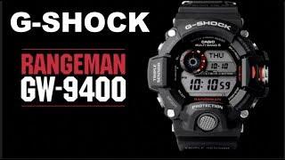 Casio G-SHOCK Master Of G Triple Sensor Rangeman GW-9400-1: Unboxing & Review