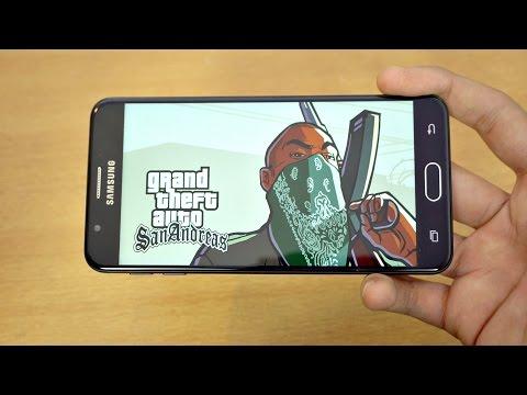 Samsung Galaxy J7 Prime GTA San Andreas Gaming Review! (4K)