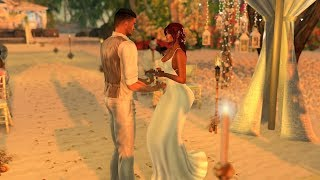 Ty &  Sylver Wedding Second Life