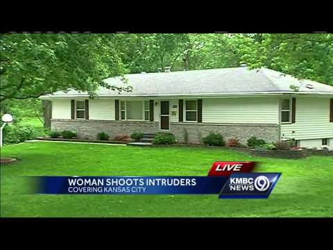 Woman shoots at intruders during attempted home invasion