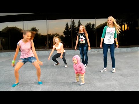 Малышка круто танцует! Хип-хоп дети