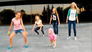 Малышка круто танцует! Хип-хоп дети. Это нужно видеть