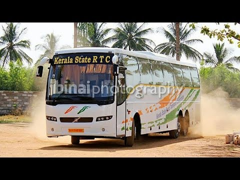 KSRTC(Kerala) Garuda Volvo 9400 B9R Multi Axle Bus/kerala/INDIA