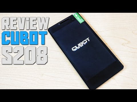 Review | Cubot S208 SmartPhone Android Econ�mico En Espa�ol