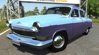 BeamNG.Drive Mod : GAZ 21 Stock (physics Crash test)