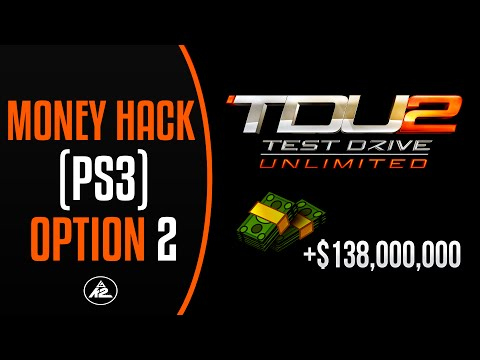 TDU2 Money Hack PS3 [138 Million] (1.06) Option 2