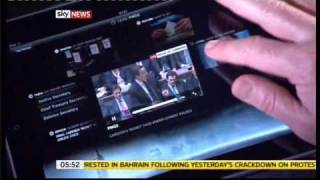 SKY news Ipad App launched today