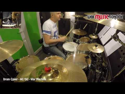 AC/DC - War Machine - DRUM COVER
