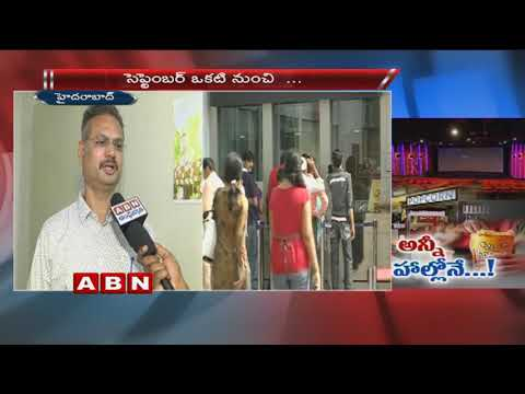 Telangana Consumer Affairs, Food officer Bhaskar reddy face to face over Food rates in Multiplexes