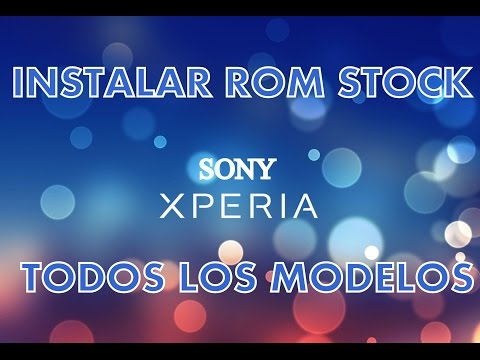 Smartphones Sony XPERIA   Instalar una ROM STOCK con FLASHTOOL