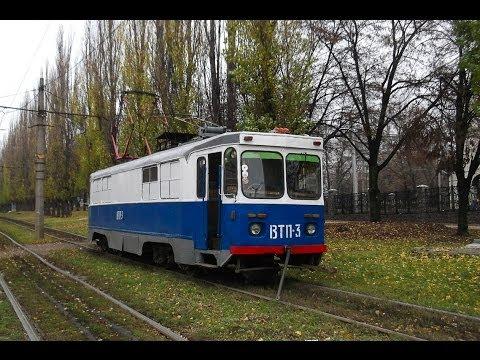 Харьков. Сход трамвайного вагона