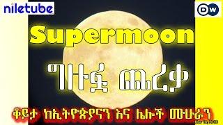 Supermoon ግዙፏ ጨረቃ ቆይታ ከኢትዮጵያን እና ሌልች ሙሁራን - DW Amharic (November 16, 2016)