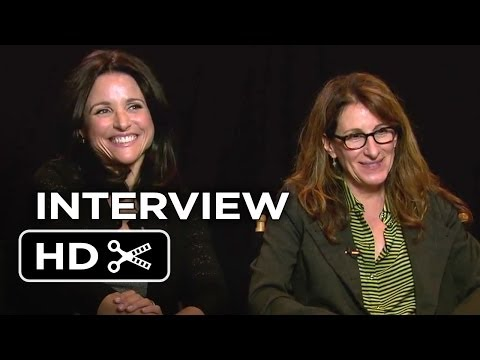 Movies For Grownups FF - Enough Said - Julia Louis Dreyfus And Nicole Holofcener Interview (2013) HD