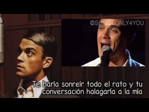 I Will Talk And Hollywood Will Listen - Robbie Williams (Traducida Al Español)