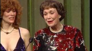 Jane Wyman Wins Best Actress TV Series Drama - Golden Globes 1984