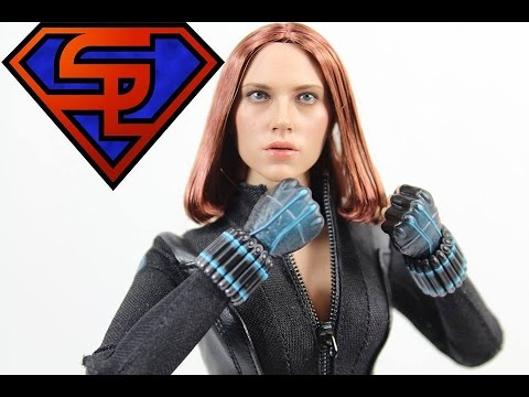 Captain America The Winter Soldier Hot Toys Black Widow Movie Masterpiece 1/6 Scale Figure Review