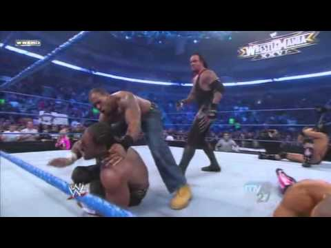 Undertaker opens the gates of hell