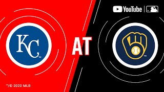 Royals at Brewers | MLB Game of the Week Live on YouTube