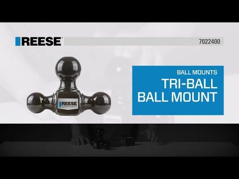 REESE® Tri-Ball Ball Mount - 7022400