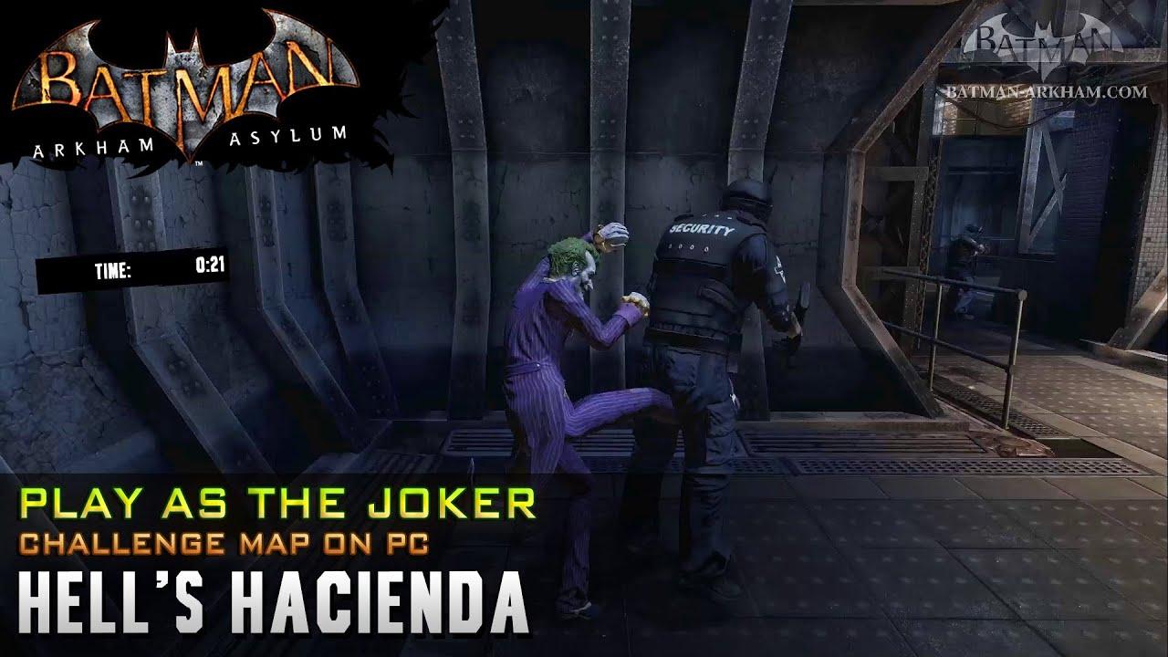 Pc Batman Arkham Asylum Joker Challenge Hells