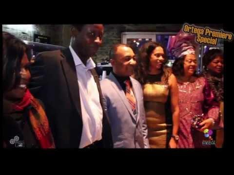 Ortega London Genesis Movie Premiere