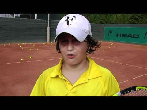 guillermo vilas tennis academy, Imanol Lopez, 10 years old