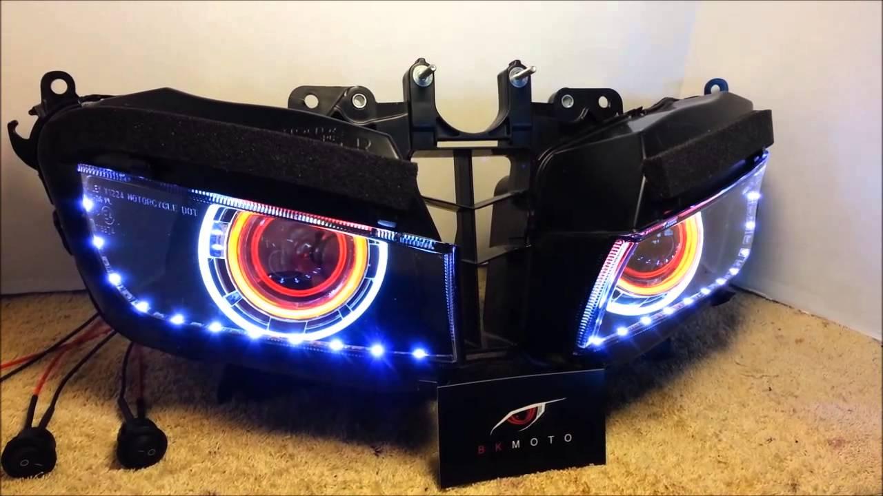 2 2013 2014 Honda Cbr600rr Projector Headlights Bixenon