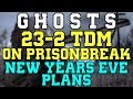 CoD Ghosts 23 2 Team Death Match On Prison Break New Years Eve Plans mp3