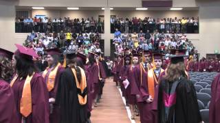 Pearl River Community College 2015 Graduation Processional