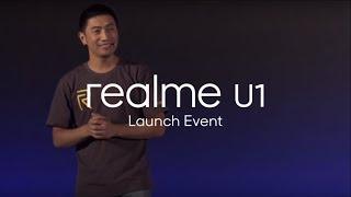 Realme U1 Launch Event
