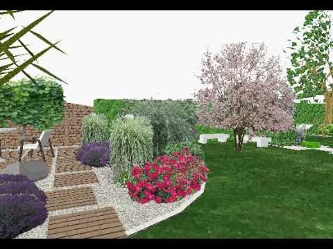 Etude de l 39 am nagement d 39 un petit jardin dans le bas rhin for Amenager son jardin 3d gratuit