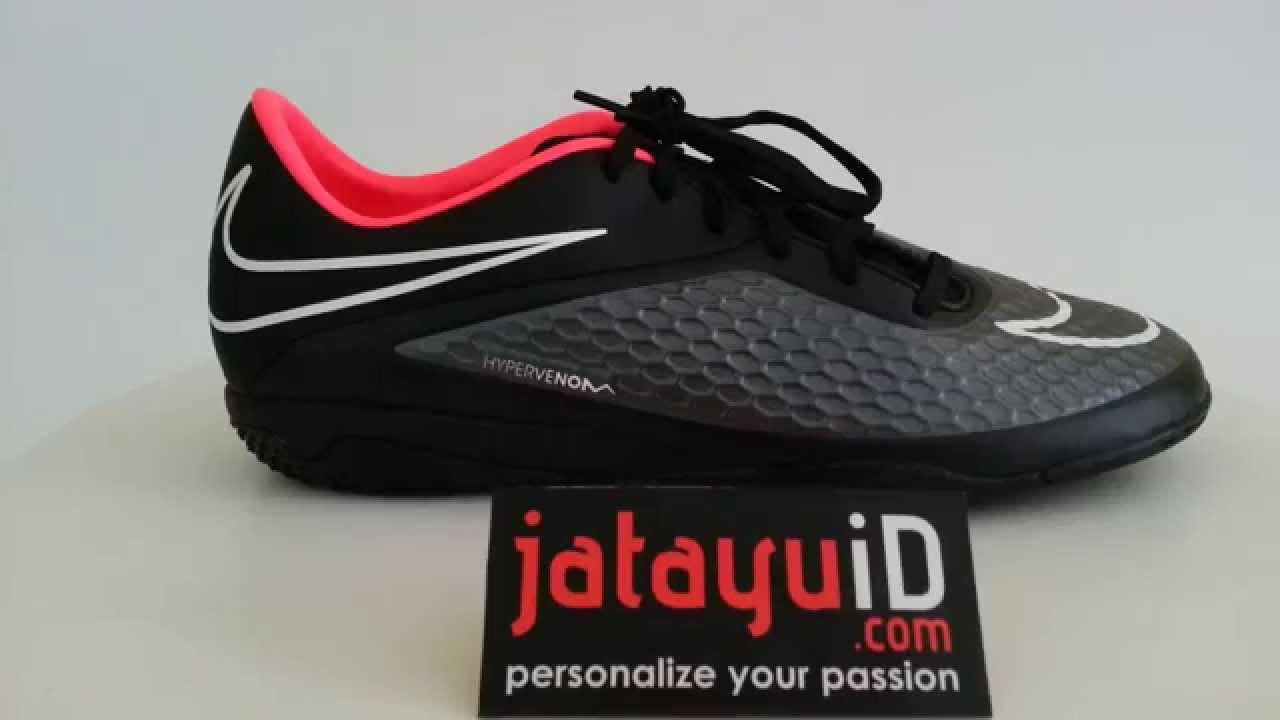 Nike Hypervenom All Black NIKE Hypervenom Phelon IC