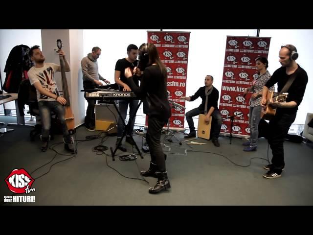 Raluka - All For You live la Kiss FM