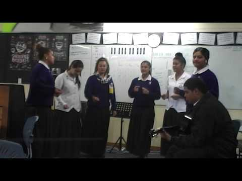 Otahuhu College Music Department - Rather go blind - Y13 group performance
