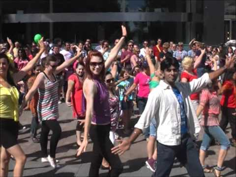 Bollywood Flash Mob In Australia (canberra) - Official video