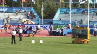 IAAF World Junior Championships Moncton 2010 - 400m hurdles men heat 1 - Lauf 1