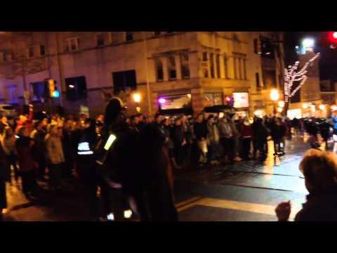 Hallelujah choir flash mob in Bethlehem