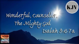 "Isaiah 9:6-7a Song ""Wonderful, Counsellor, The Mighty God"" (Christian Praise Worship 2013)"