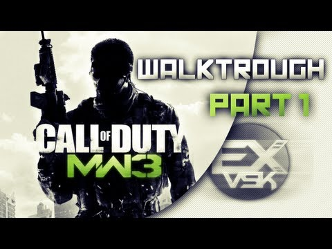Call Of Duty Modern Warfare 3 Walkthrough Partie 1 Commenté [FR][HD]