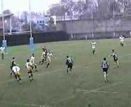 Funny Rugby Try Trick Video