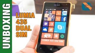 Microsoft Lumia 435 Dual Sim Smartphone Unboxing & First Look #Lumia