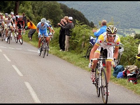 Tour de France 2008 - stage 9 - Riccardo Ricco takes a flying solo win
